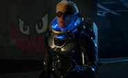 Mr Freeze in his suit Pinewood