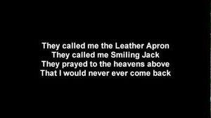 Lordi - Blood Red Sandman Lyrics on scren HD