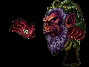 Emperor Andross the Krazoa God