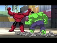 Red hulk is a psychopath