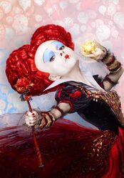 Red Queen Looking Glass