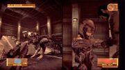 Vamp confronting Raiden round 2 (MGS4)