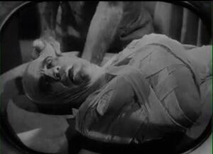 1932 Imhotep mummified