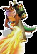 Dingodile Crash Bandicoot 3 Warped