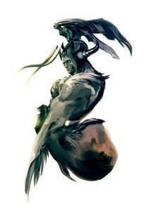 Giant Bizarro Sephiroth