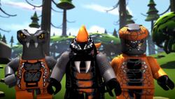 Bytar, Chokun & Snike (Ninjago)