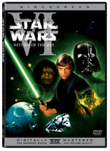 Return Of The Jedi DVD