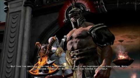 God of War III - Boss 4 Hercules