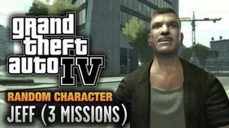 GTA 4 - Random Character -8 - Jeff -3 Missions- (1080p)