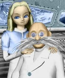 Professor Gerald Robotnik & Maria Robotnik