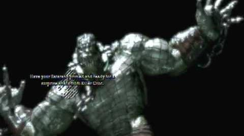 Batman Arkham Asylum - Game Over Killer Croc