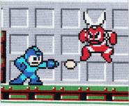 Cut Man vs Megaman