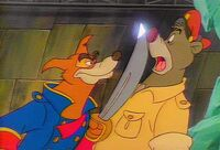 Don Karnage and Baloo