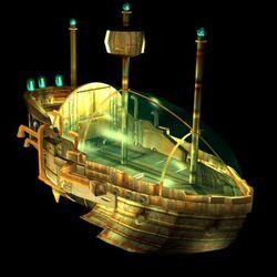 Space Pirate Ship