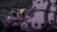 Torafusa is defeated by Gajeel