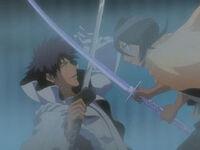 Rukia Kuchiki vs. Aaroniero