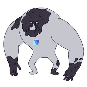 The Invisible Gem Monster