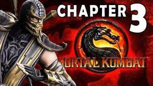 Mortal Kombat 9 - Story Mode Chapter 03 - Scorpion 1080P Gameplay Walkthrough