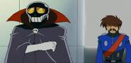 Skull and lieutenant