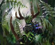 Umarak The Hunter by Matt Batteker