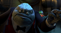 Mr. Waternoose Argues with Randall