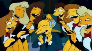 There is a man named Mr Burns Song