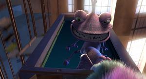 Randall's evil smile