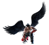 Devil Jin - Full-body CG Art Image - Tekken 6