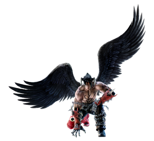 File:Devil Jin - Full-body CG Art Image - Tekken 6.png