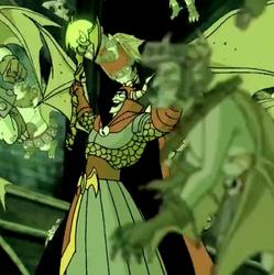The Goblin King's evil laugh