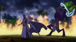 Storm & Emma Frost vs. Shadow King