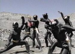Sinister Shadow Rangers