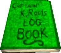 Kaptain K. Rool's Log Book