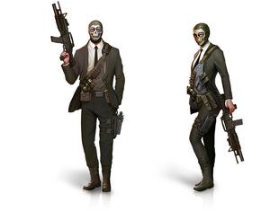 Illuminati mercenary male