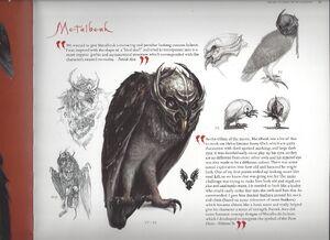 Metal Beak Concept Art