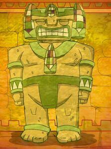 Sleeping Corn Colossus of Juatchadoon