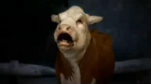 Burger King Cow