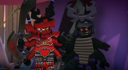 General Kozu & Lord Garmadon