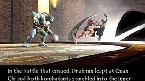 Mortal Kombat Deadly Alliance Drahmin's Ending