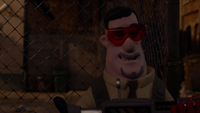 Trumper's grin