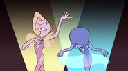 """Yellow Pearl and Blue Pearl in """"The Trial"""""""