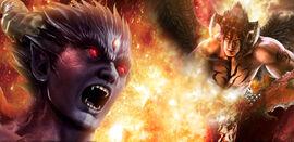 Devil kazuya vs devil jin slot game by k4zuya kh4n-d4v18lm
