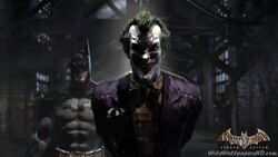 Batman-With-Joker-In-Pen-Batman-Arkham-Asylum-Wallpapers