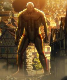 Armored Titan's appearance