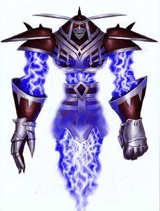 Dark Warrior Ghost