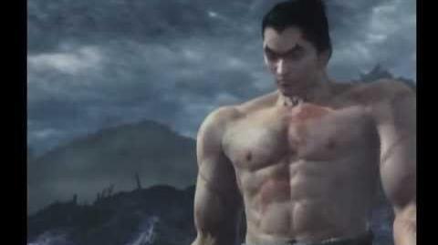 Tekken 5 - Kazuya Mishima ending - HQ