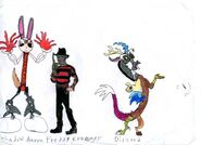 Shadow Aaron and villains