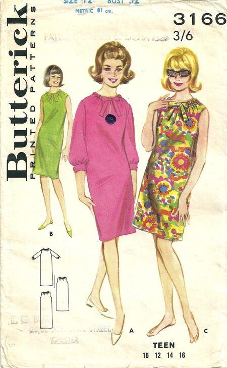 Butterick 3166 B