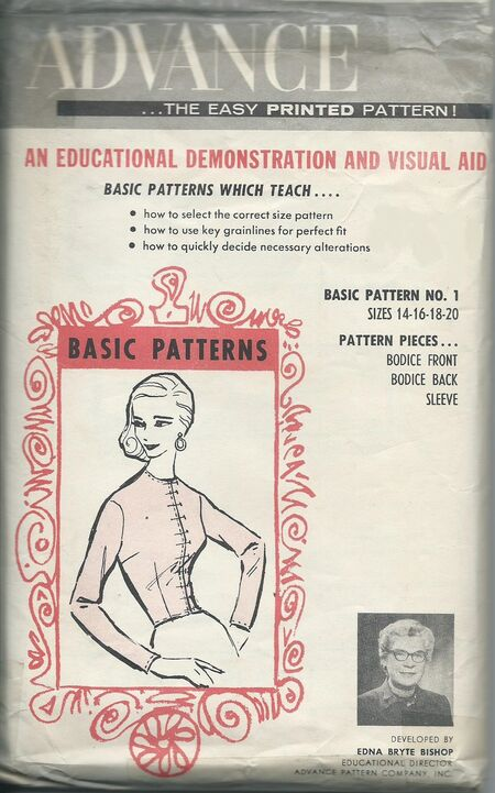 Advance basic pattern 1 adjust