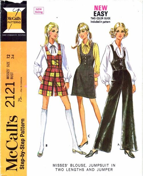 McCalls 1969 2121